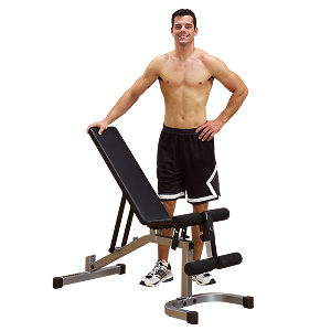 Powerline (PFID130X) Flat / Incline / Decline Fitness Weight Bench by BODY-SOLID