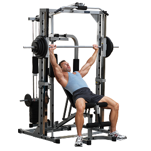 Powerline (PSM1442XS) Smith Machine System Gym Set