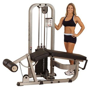 BODY-SOLID Pro Clubline Commercial Leg Curl Machine (SLC400G/3) 310 lb. Weight Stack