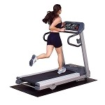 Endurance T6i Running Treadmill with Heart Rate Control by BODY-SOLID