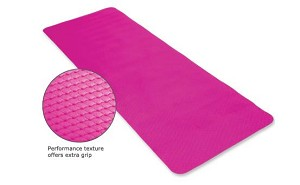 "ECOWISE Essential Yoga / Pilates Mat (1/4""x24""x72"") Lavender - Latex Free (Eco Friendly)  (80103)"