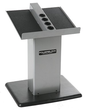 POWER BLOCK Large Column Dumbbell Stand (Used for Personal Trainer Set and Elite Sets)