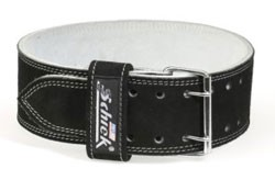 SCHIEK L6010 Leather Competition Belt for Power Lifters - 10CM - Medium