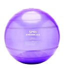Spri Stediball 65Cm Weighted Stablity Ball Transparent Purple