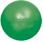 SPRI Elite Xercise Ab Workout Swiss Ball - Commercial Grade (45cm, Green)