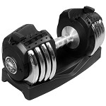 THE X-MARK 50 lb. Adjustable Dumbbell XM-3307