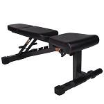 THE X-MARK Power Series Full Commercial Adjustable FID Utility Bench XM-9010