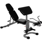 THE X-MARK Flat, Incline and Decline Weight Lifting Bench with Arm Curl and Leg Developer (XM-4418)