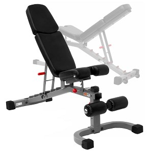THE X-MARK FID Flat Incline Decline Weight Bench - Gray (XM-7604)