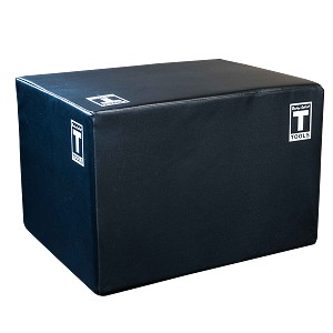 "Body-Solid 3 Way Soft Plyo Box, 20"", 24"", 30"" (Bstspbox)"