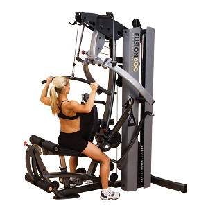 BODY-SOLID Fusion 600 Multi Home Universal Gym (F600/3) w/ 310 lb. Weight Stack