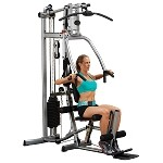 BODY-SOLID (P1X) Powerline Strength Building Universal Home Gym System