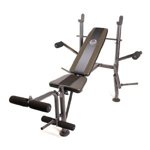 Muscle Inc (FM-6230B) Standard Exercise Bench w/ Butterfly Attachment by CAP