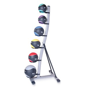 CAP 42 lb. Medicine Kinesi-O-Ball Set w/ Rack