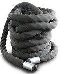 "SPRI Bulldog Cover Exercise Heavy Thick Ropes - 2"" x 55'"