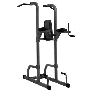 THE X-MARK VKR Vertical Knee Raise with Dip and Pull-up Station Power Tower - Commercial (XM-7617)