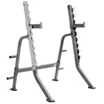 THE X-MARK Multi Press Squat Rack with Olympic Plate Weight Storage - Commercial (XM-7619)