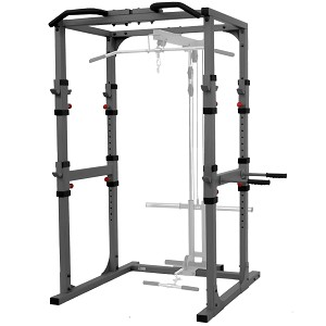 THE X-MARK Power Cage with Dip Station and Pull-up Bar - Commercial (XM-7620)
