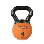 Elite Mini Kettlebell Ball, 4 lb. - Orange (Professional Gym Quality) by AeroMat