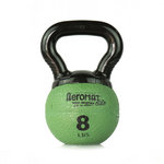 Elite Mini Kettlebell Ball, 8 lb. - Green (Professional Gym Quality) by AeroMat