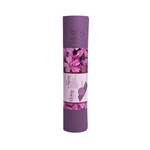 Black/Purple Yoga Mat (Home Gym Use) by EcoWise