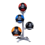 Medicine Ball Rack, Holds 3 Balls, Rack Only (Professional Gym Quality) by Body-Solid