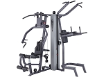 Home Multi Station Gym Pulley Weight Machine - 210 lb. Stack (Heavy Duty Construction) by SteelFlex MG100B