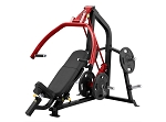 Steelflex Chest Shoulder Incline Bench Press - Plates Included