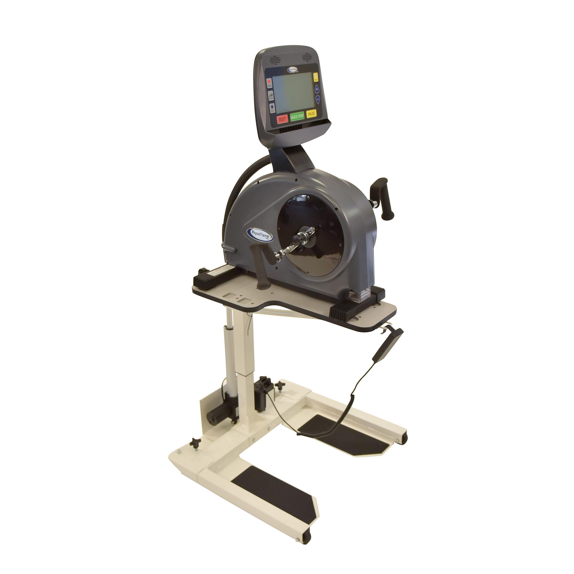PhysioTrainer PRO Package - Includes Upper Body Ergometer w/ Motorized Table (Commercial Grade Quality)