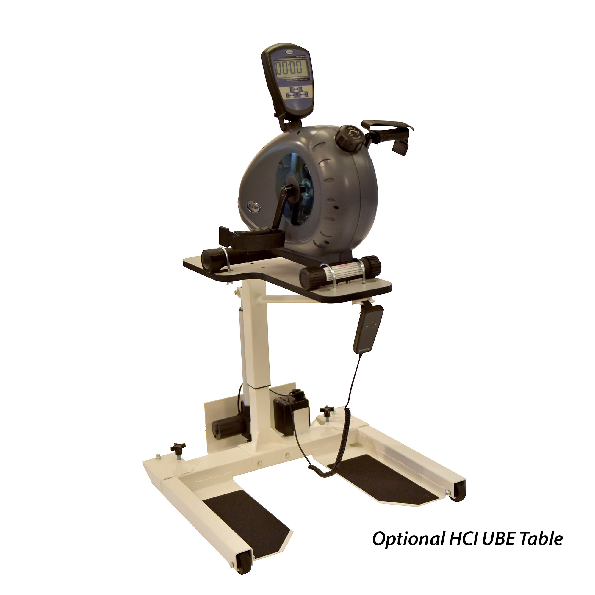 PhysioTrainer UBE w/ Motorized Table Package (Commercial Grade Quality)