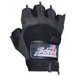 Schiek Men's Weight Lifting Gloves, Premium Gel Grip - Large