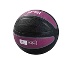 Xerball 8 lb. Rubber Medicine Ball Weight (Professional Gym Quality) by SPRI