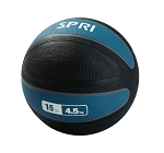 Xerball 15 lb. Rubber Medicine Ball Weight (Professional Gym Quality) by SPRI