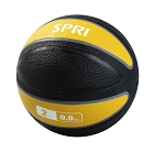 Xerball 2 lb. Rubber Medicine Ball Weight (Professional Gym Quality) by SPRI