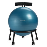 Custom Fit Balance Ball Chair - Blue by Gaiam