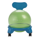 Kids Balance Ball Chair - Blue/Green by Gaiam