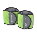 Ankle Weights Pair 5Lb by Gaiam Restore