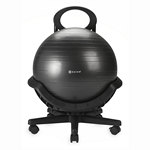 Ultimate Balance Ball Chair - Black by Gaiam