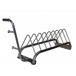 Horizontal Bumper Plate Rack (Commercial Gym Quality) by VTX