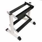 2-Tier Compact Dumbbell Rack (Home Gym Use) by USA Sports