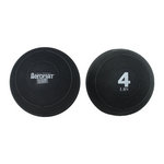 4 lb. Exercise Slam Ball w/ Sand for CrossFit (Professional Gym Quality) by AeroMat