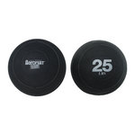 25 lb. Exercise Slam Ball w/ Sand for CrossFit (Professional Gym Quality) by AeroMat