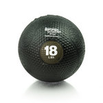 18 lb. Rubber Medicine Ball Weight - Olive (Professional Gym Quality) by AeroMat