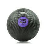 25 lb. Rubber Medicine Ball Weight - Purple (Professional Gym Quality) by AeroMat