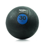 30 lb. Rubber Medicine Ball Weight - Blue (Professional Gym Quality) by AeroMat