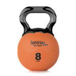 Elite Kettlebell Ball, 8 lb. - Orange (Professional Gym Quality) by AeroMat