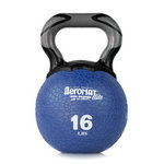 Elite Kettlebell Ball, 16 lb. - Blue (Professional Gym Quality) by AeroMat