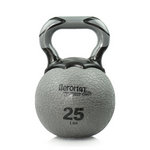 Elite Kettlebell Ball, 25 lb. - Gray (Professional Gym Quality) by AeroMat