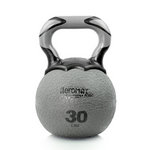 Elite Kettlebell Ball, 30 lb. - Gray (Professional Gym Quality) by AeroMat