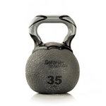 Elite Kettlebell Ball, 35 lb. - Gray (Professional Gym Quality) by AeroMat